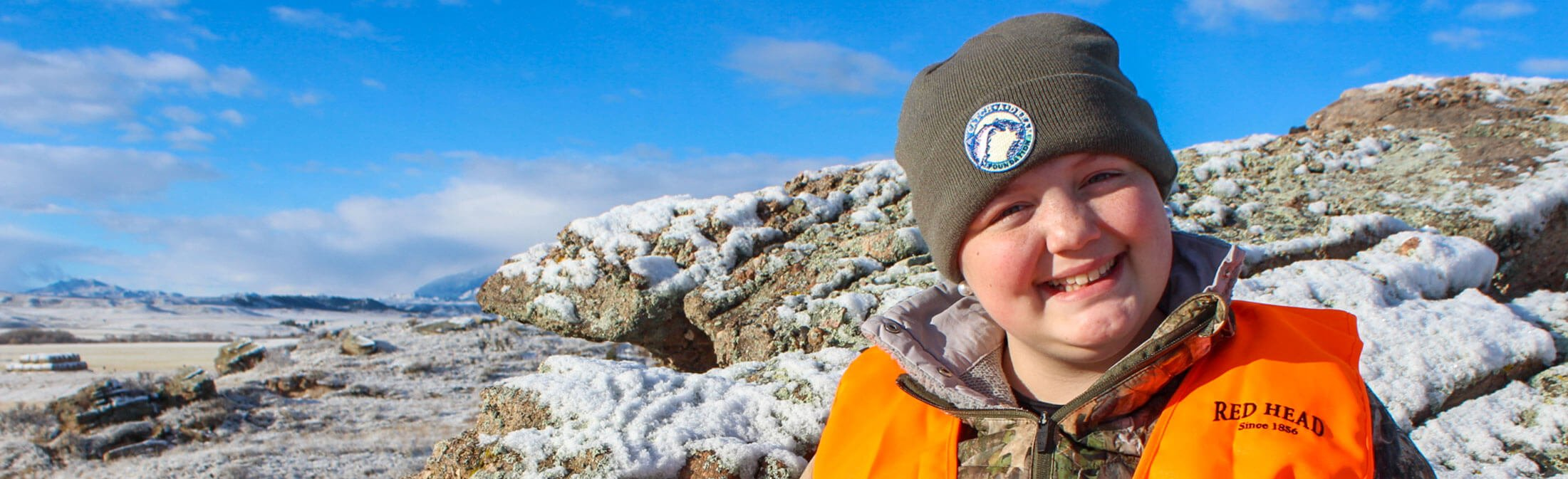 Catch-A-Dream child on elk hunting adventure